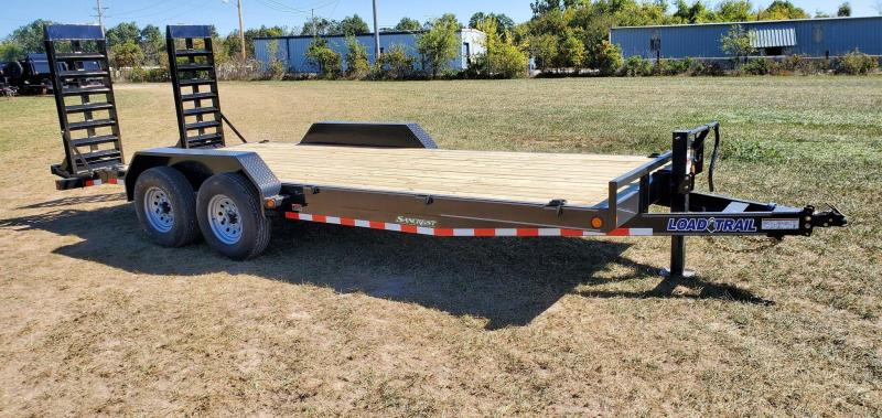 2021 Load Trail 83X20 TANDEM 14K EQUIPMENT HAULER W WIDE HD STAND UP RAMPS