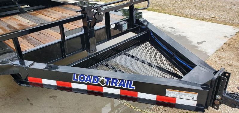 2020 Load Trail 102X22 TANDEM 14K TILT N GO GRAVITY TILT W/6' STATIONARY DECK