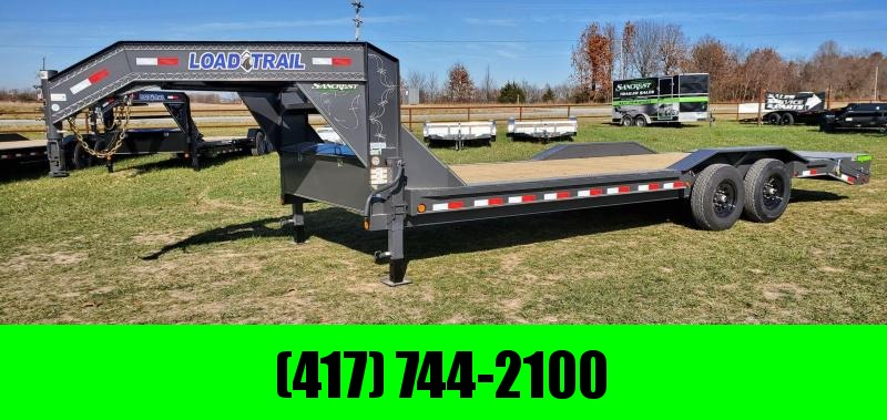 2021 Load Trail 102X24 TANDEM 14K GN EQUIPMENT HAULER W/MAX RAMPS