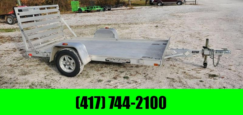 2016 Aluma 63X10 ALUMINUM UTILITY W/ TUBE GATE & EXTRUDED DECK