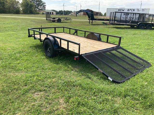 2021 Load Trail Single Axle Utility Trailer
