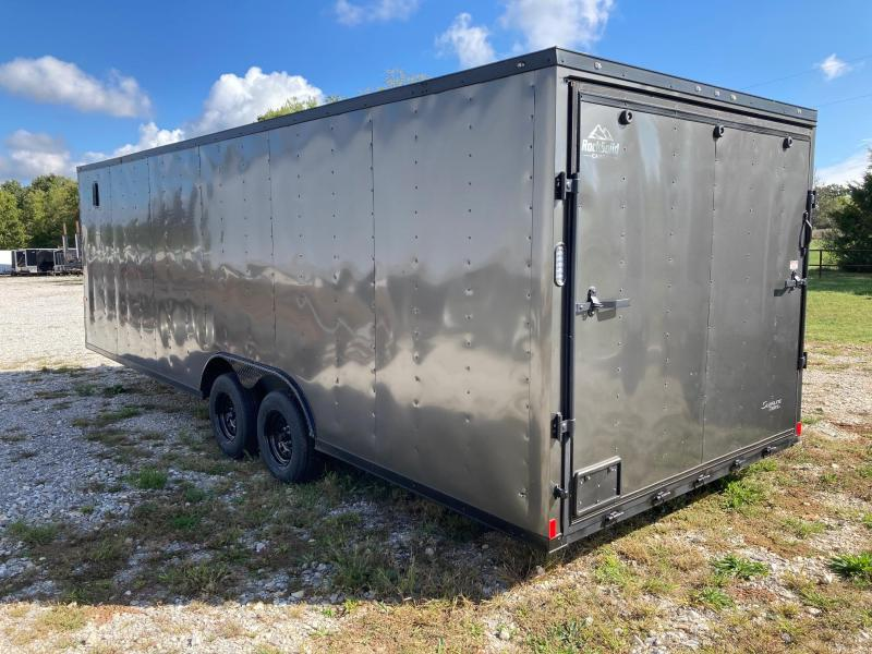 2021 Rock Solid 8.5X24 BLACKOUT CARGO W/7' HEIGHT