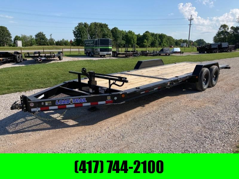 2021 Load Trail 83X22 TANDEM 14K EQUIPMENT TRAILER WITH 16' GRAVITY & 6' STATIONARY