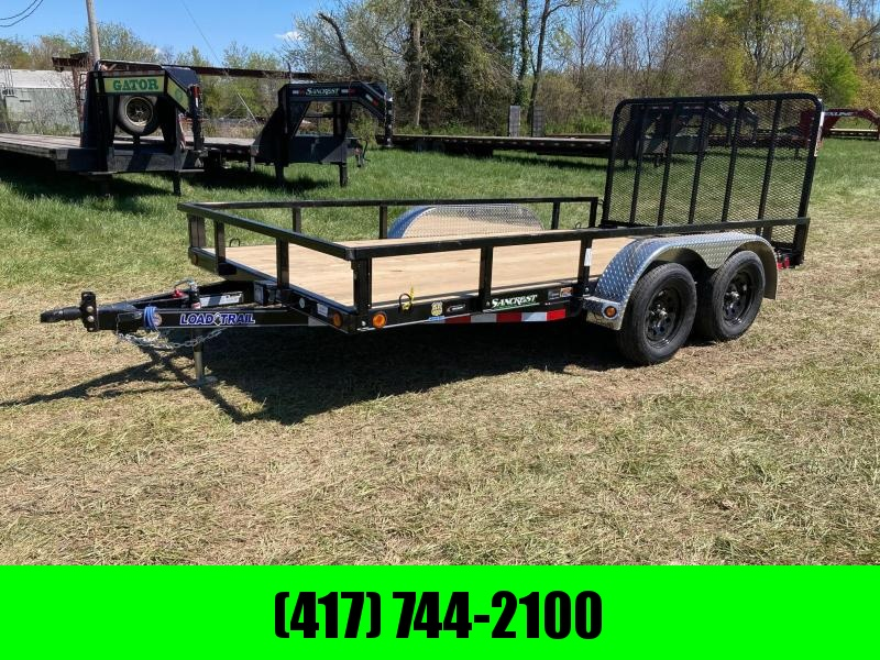 2021 Load Trail TANDEM 3.5K AXLES W/ REMOVABLE FENDERS AND SIDE RAILS