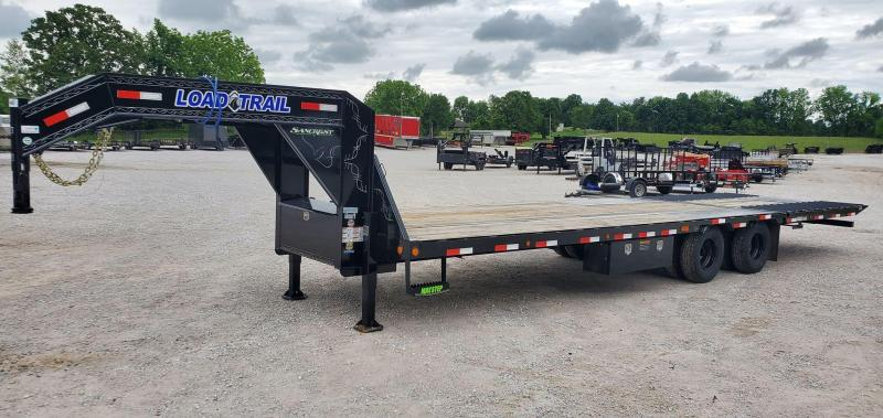 2020 Load Trail 102x32 TANDEM LO-PRO GOOSENECK W/10FT CLEATED TAIL & HYDRO JACKS