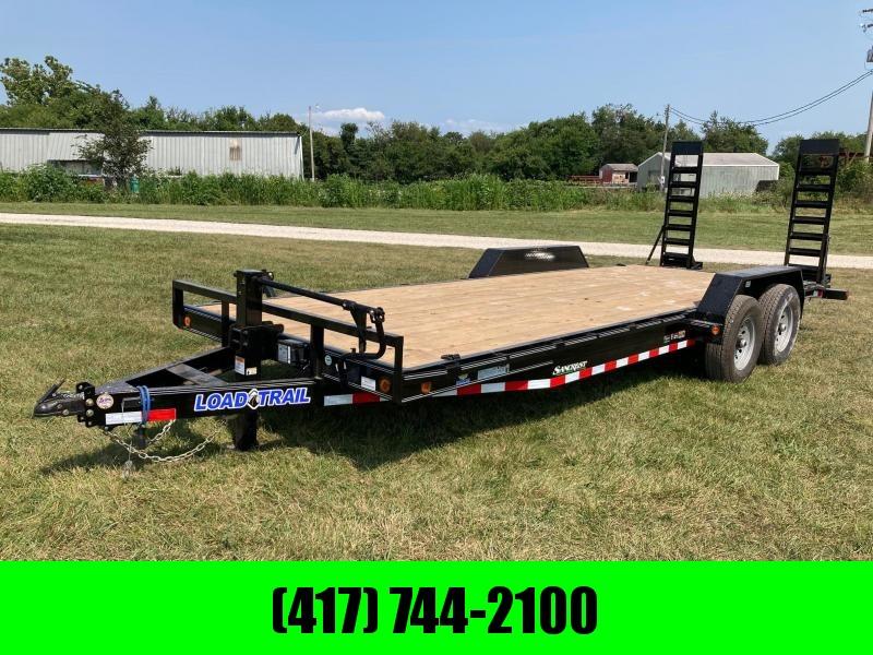 2021 Load Trail 83X22 TANDEM 14K CARHAULER W/ STAND UP RAMPS