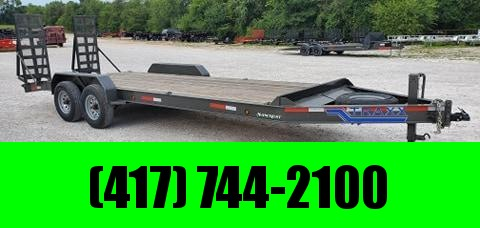 2020 Traxx 84X22 TANDEM 16K I-BEAM EQUIPMENT HAULER W/STAND UP RAMPS
