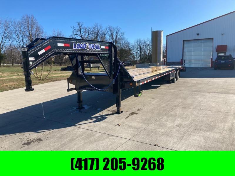 2021 Load Trail 102x40 Tandem Dual Flatbed Trailer W/ Air Ride & Lift Axle