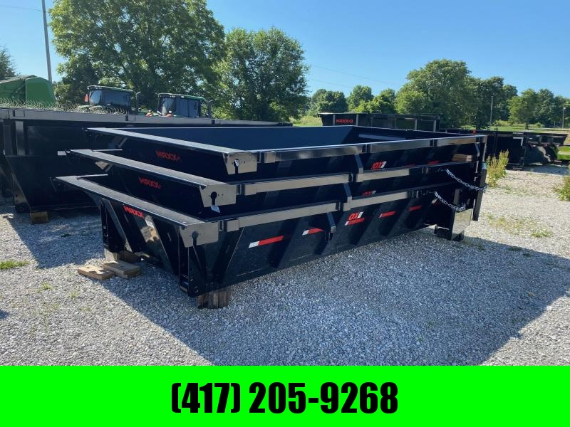 THREE 2021 MAXXD 83x14 2 FT Roll Off Bins Dump Box