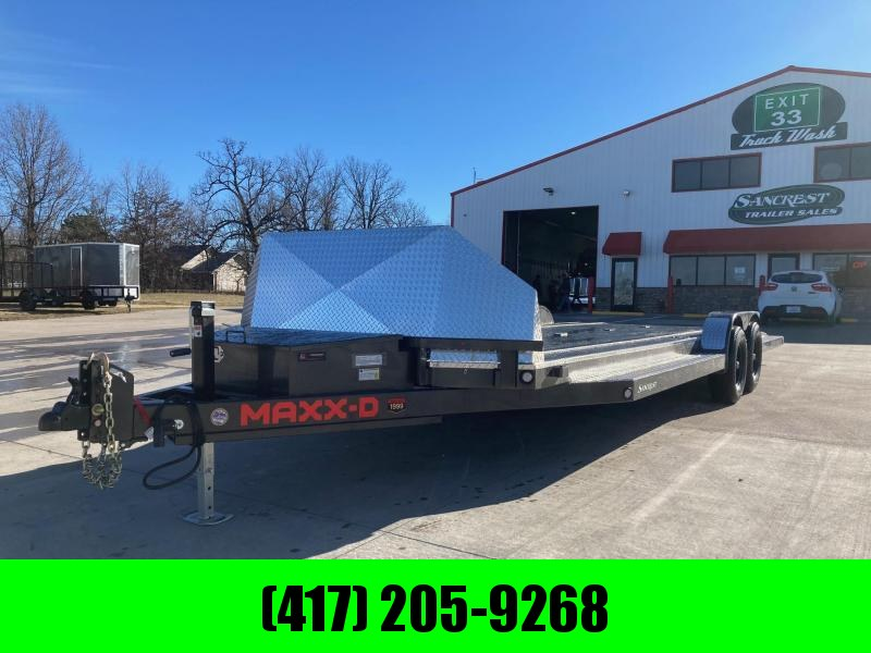 2021 MAXXD 83x24 Tandem Carhauler/ Equipment Trailer