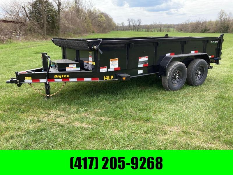 """2021 Big Tex 83X14 Tandem 14k Dump W/24"""" Sides"""
