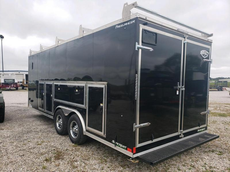 2022 Impact 8.5X20 TANDEM 10K CONSTRUCTION PACKAGE CARGO