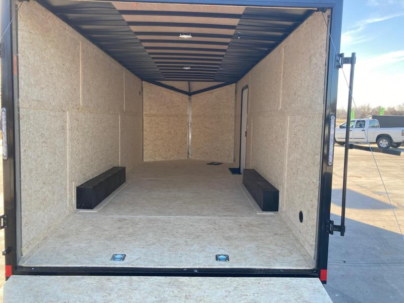 2022 Impact Trailers 8.5x20 Tandem Enclosed Cargo Trailer