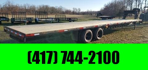 2012 Texas Pride 102X38 TANDEM GN W/12K AXLES & NEW DECK