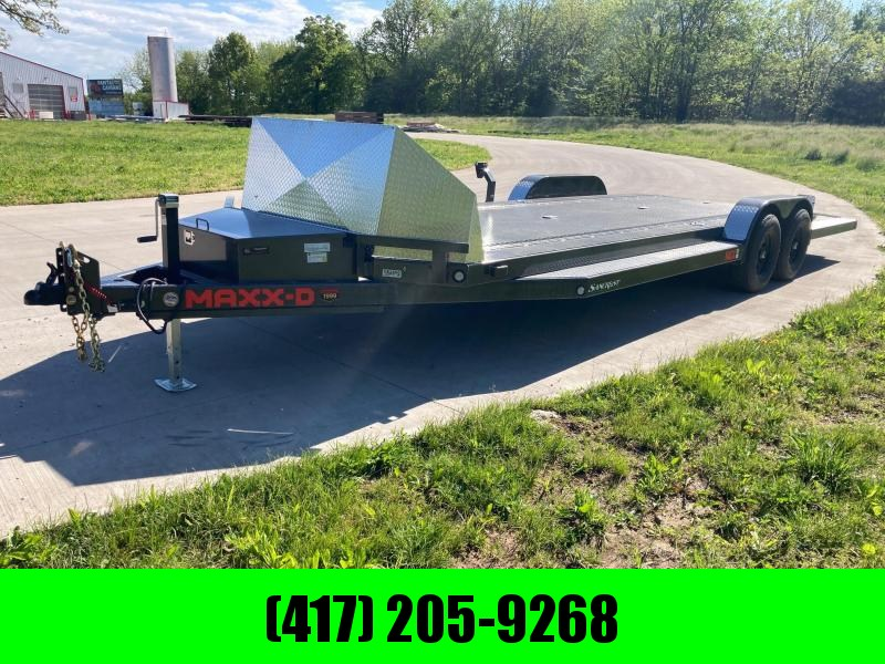 2021 MAXXD 83x24 Tandem 10K Car / Racing Trailer