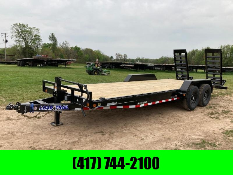 2021 Load Trail 83X22 TANDEM 14K EQUIPMENT TRAILER W/ STAND UP RAMPS