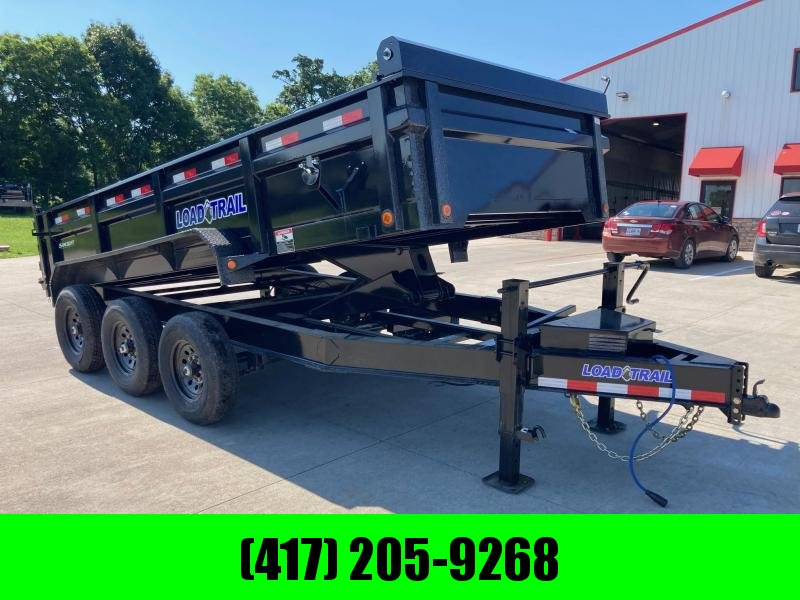 2021 Load Trail 83x16 Triple Axle Dump Trailer