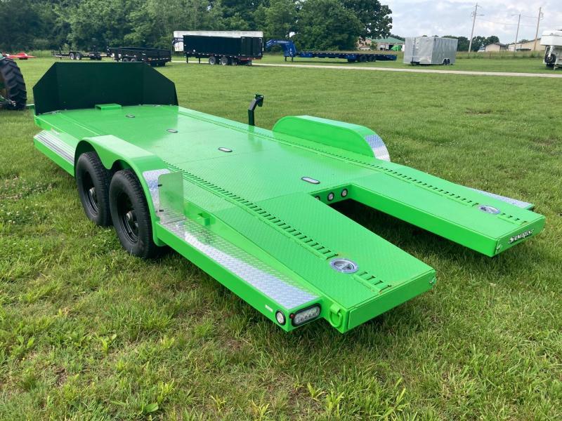 2021 MAXXD 83x20 Tandem Steel Floor Car / Racing Trailer