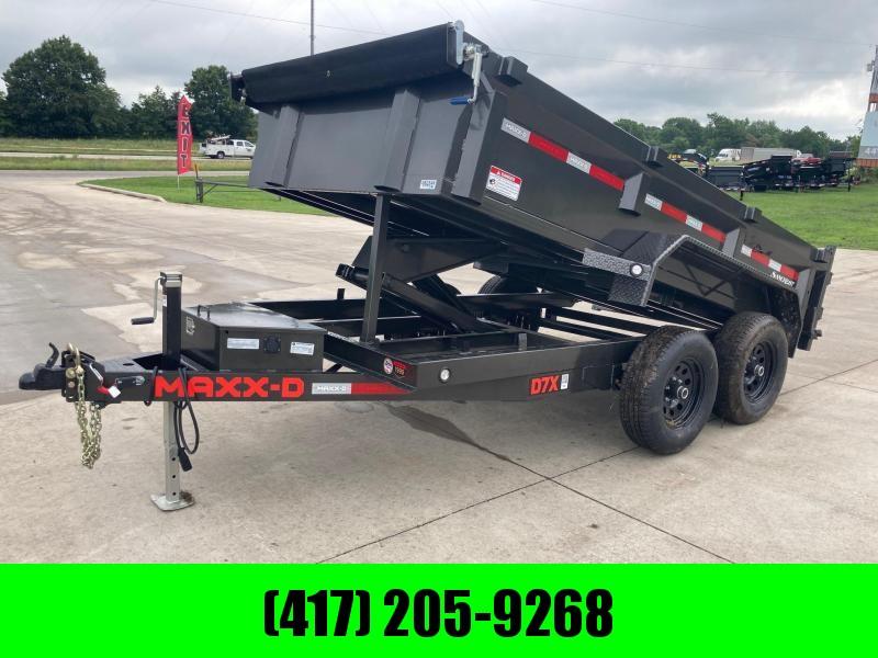 2021 MAXXD 72x12 Tandem Dump Trailer