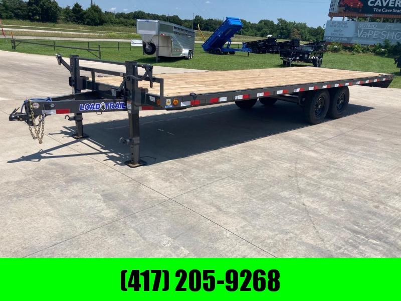 2021 Load Trail 102x24 Tandem Deck Over Flatbed Trailer