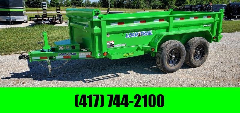 """2021 Load Trail 72X12 TANDEM 10K W/ 24"""" SIDES AND SLIDE IN RAMPS"""