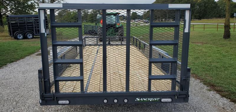 2022 MAXXD 83X18 TANDEM 10K W/ 4' FOLD GATE