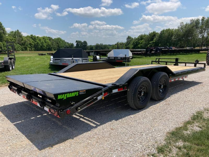 2021 Load Trail 102X22 TANDEM 14K CARHAULER W/ MAX RAMPS