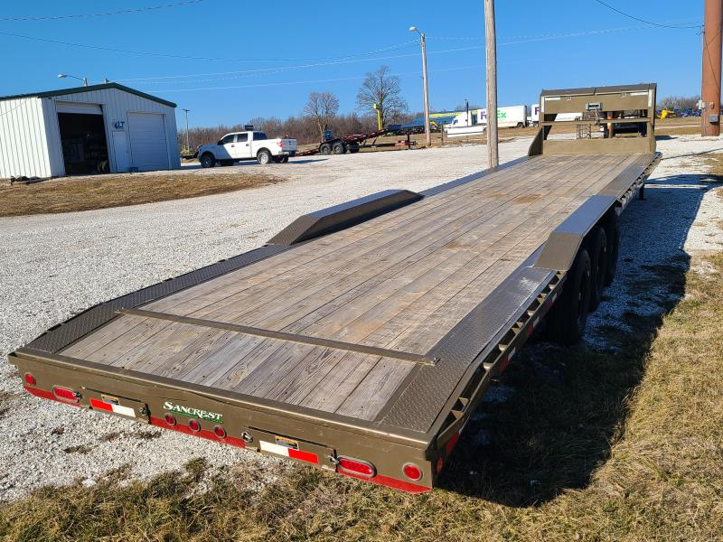 "2020 Load Trail 102"" x 40' Triple Gooseneck Carhauler W/ 3- 8KS AXLES"
