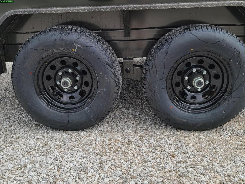 "2021 MAXXD 72X12 TANDEM 10K DUMP W/ 21"" SIDES AND SLIDE IN RAMPS"