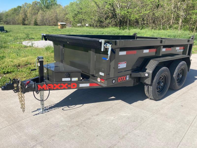 2021 MAXXD 72x10 Tandem 10K Dump Trailer