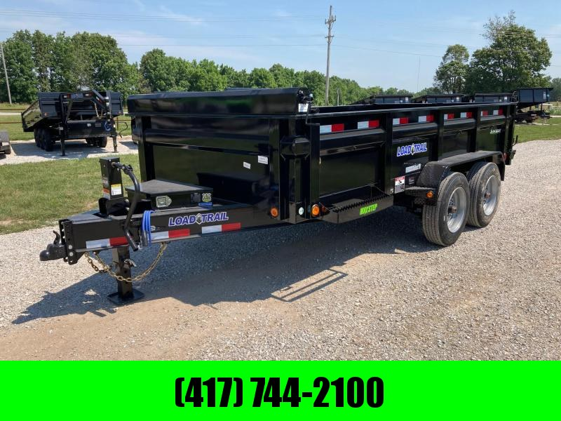 """2021 Load Trail 83X14 TANDEM 16K DUMP W/ 24"""" SIDES AND SLIDE IN RAMPS"""