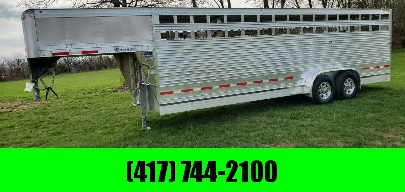 "2022 EBY 6'6""X6'6""X24' MAVERICK FREEDOM PLUS 14K GN STOCK W/ ALUMINUM WHEELS & ROLLING GATE"