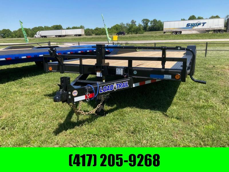 """2021 Load Trail 102"""" x 22' Tandem Axle Carhauler Equipment Trailer"""