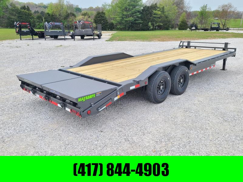 2021 Load Trail 102X24 TANDEM 16K EQUIPMENT HAULER W/ MAX RAMPS