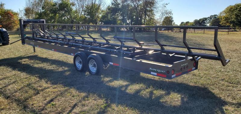 2021 Kodiak 36' GRAY HAY TRAILER