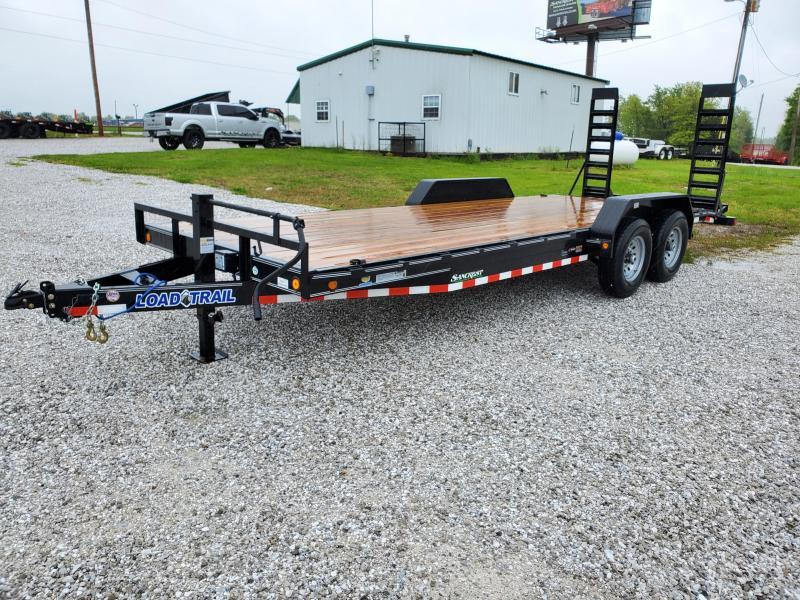 2020 Load Trail 83X22 TANDEM 14K EQUIPMENT HAULER W/STAND UP RAMPS