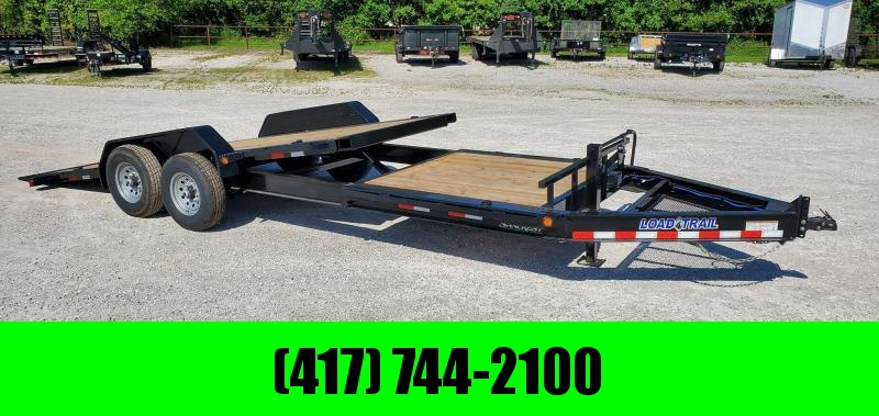 2020 Load Trail 83x22 TANDEM 14K TILT-N-GO GRAVITY TILT W/6' STATIONARY DECK
