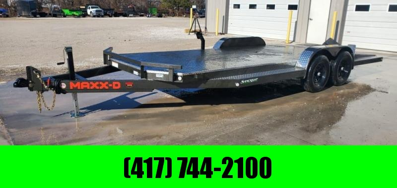 2021 MAXXD 83X20 TANDEM 10K N6X CAR HAULER W/4' DOVE & TUBE RAMPS W/STOPPERS
