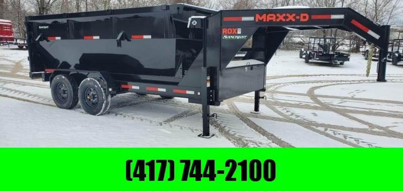 2021 MAXXD 83X14 TANDEM 16K ROLL-OFF W/4' TALL BIN(14YD)