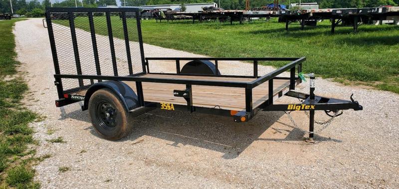 2022 Big Tex 77X10 SINGLE 3.5L UTILITY W/ 4' FOLDING GATE