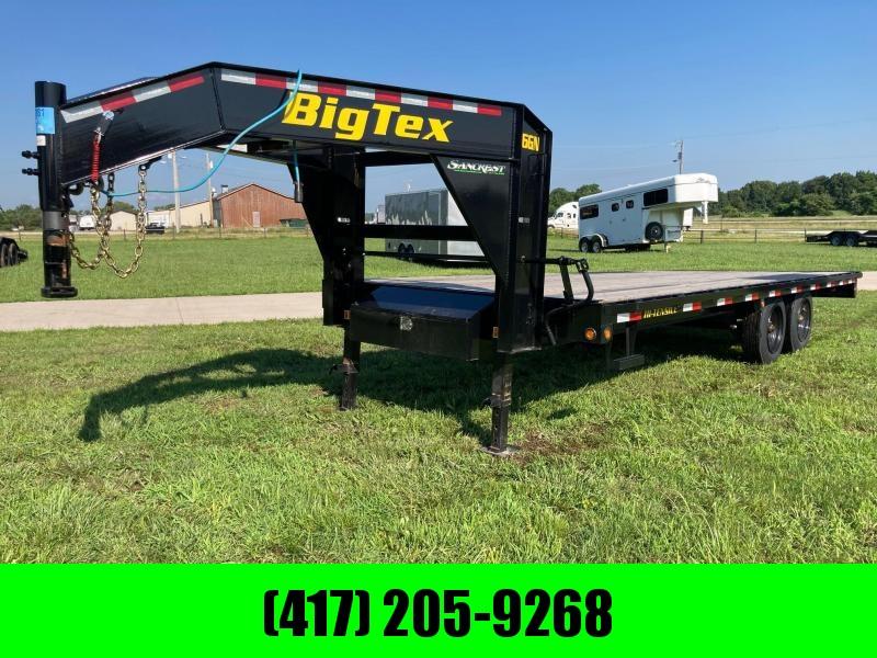 2021 Big Tex 102x20 Tandem Flatbed Trailer
