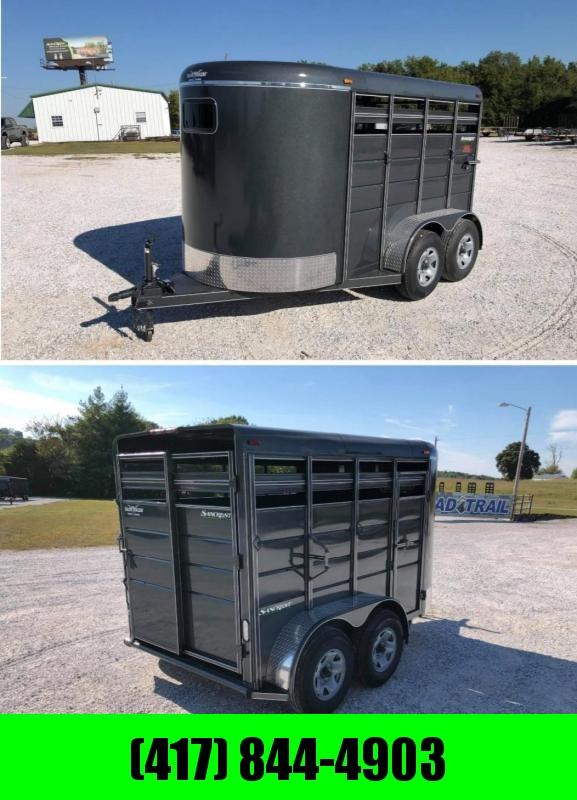 2022 Calico Trailers 6x6'6x12 Tandem Livestock Trailer