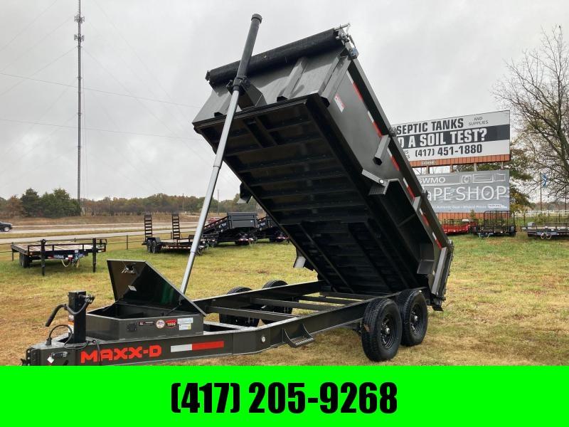 2021 MAXXD 83x14 Tandem Telescopic Dump Trailer