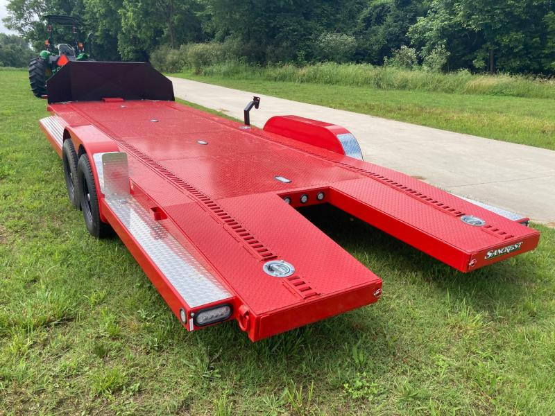 2021 MAXXD 83x24 Tandem Steel Floor Car / Racing Trailer