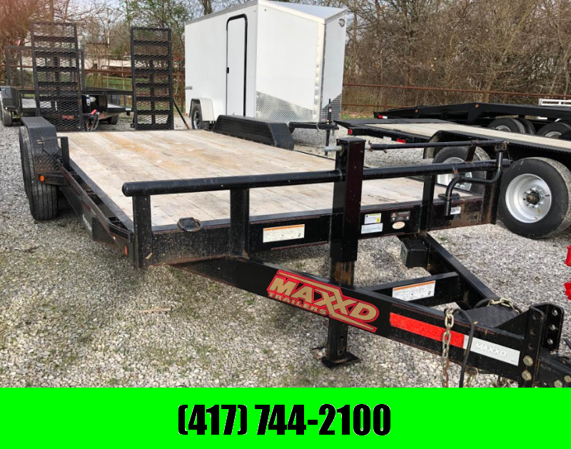 RENTAL BILLINGS - 2017 MAXXD EQUIPMENT HAULER 83X20