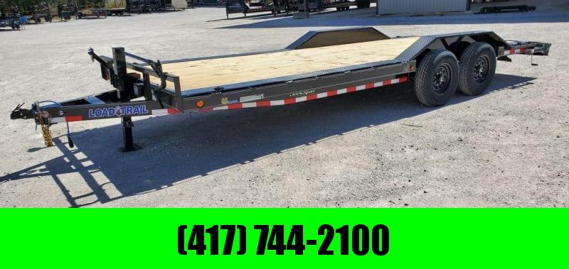 2021 Load Trail 102X22 TANDEM 14K CAR HAULER W/SLIDE OUT RAMPS