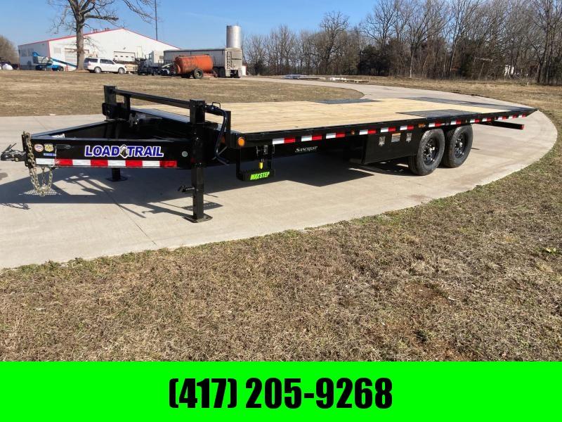 2021 Load Trail 102x24 Tandem Tilt Deck Equipment Trailer