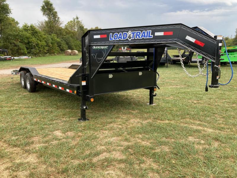 2022 Load Trail 102X24 TANDEM 14K GN CAR HAULER W/ SLIDE OUT RAMPS