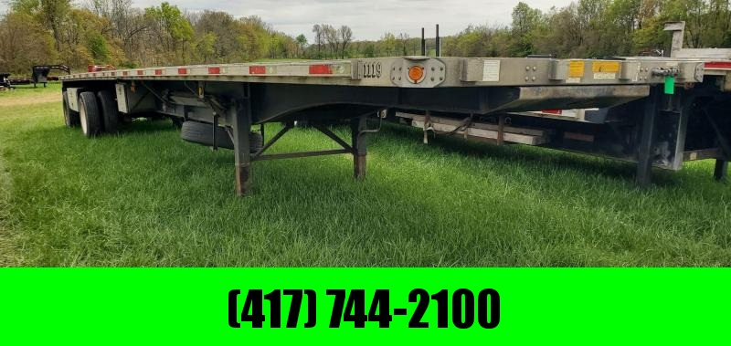 2008 Utility 102X48 FLATBED COMBO W/3 TOOLBOXES