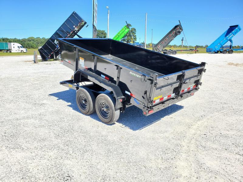 "2022 Big Tex 83x12 TANDEM 12K DUMP W/ 24"" SIDES & SLIDE IN RAMPS"